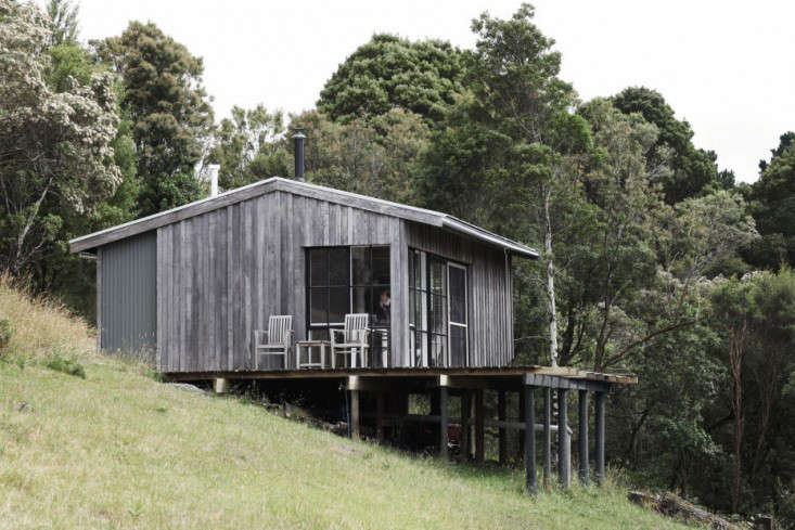 OfftheGrid Retreat Anthony and Phoebe Danns Homemade Cabin in Australia portrait 3