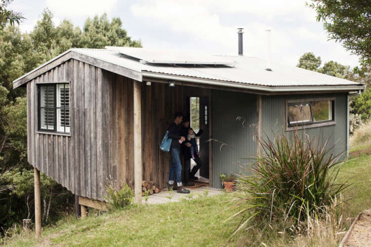 OfftheGrid Retreat Anthony and Phoebe Danns Homemade Cabin in Australia portrait 16