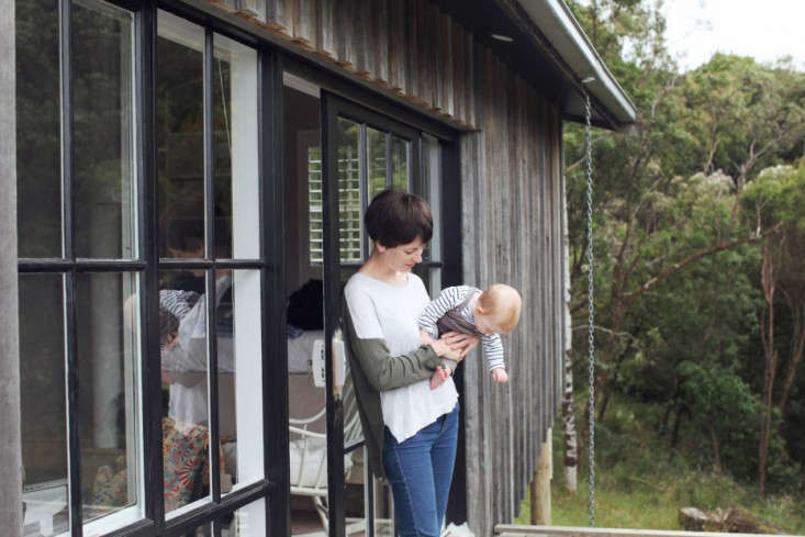 OfftheGrid Retreat Anthony and Phoebe Danns Homemade Cabin in Australia portrait 14