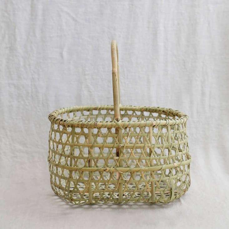 Anzu new york bamboo apple basket
