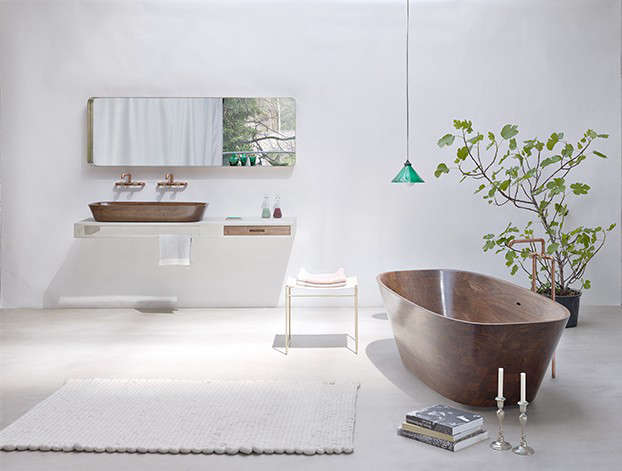 Artful Bathing The Ultimate Wood Tub and Sink portrait 3