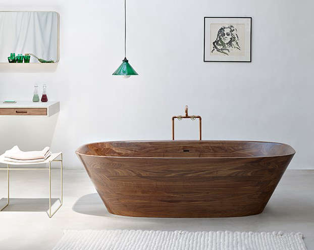 Artful Bathing The Ultimate Wood Tub and Sink portrait 4