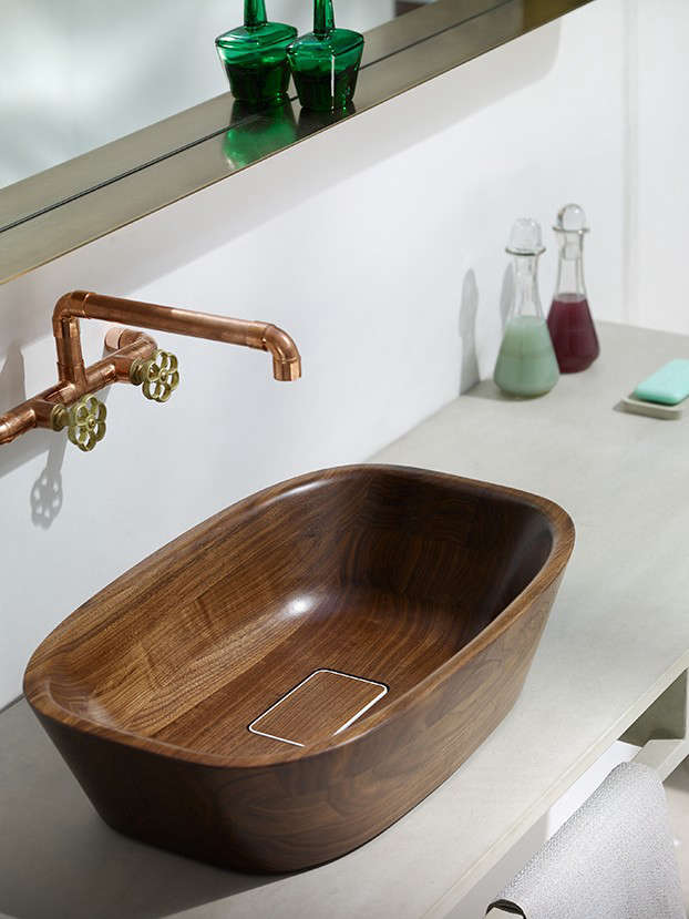 Artful Bathing The Ultimate Wood Tub and Sink portrait 7