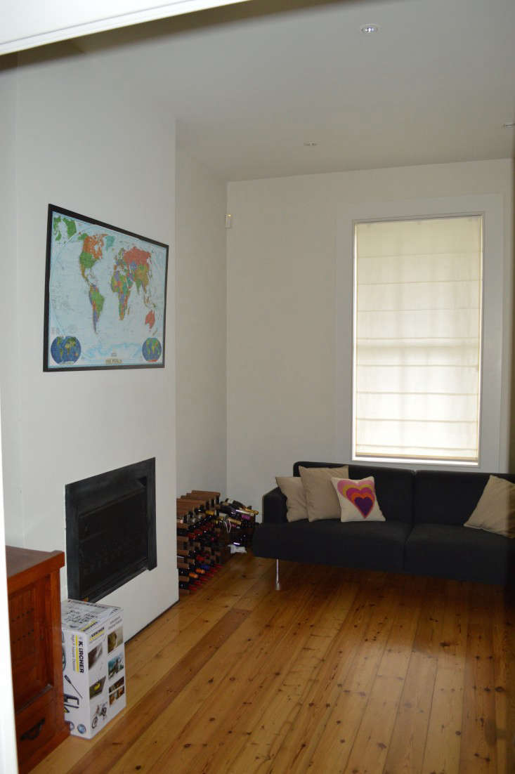 BEFORE  East Melbourne Residence Living Room Remodelista 0