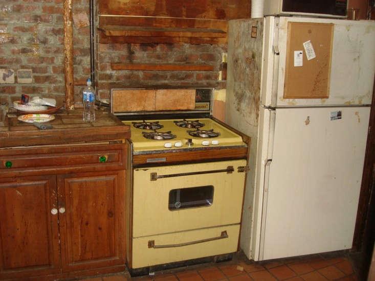 BEFORE East Village kitchen Lauren Wegel Remodelista 733x550