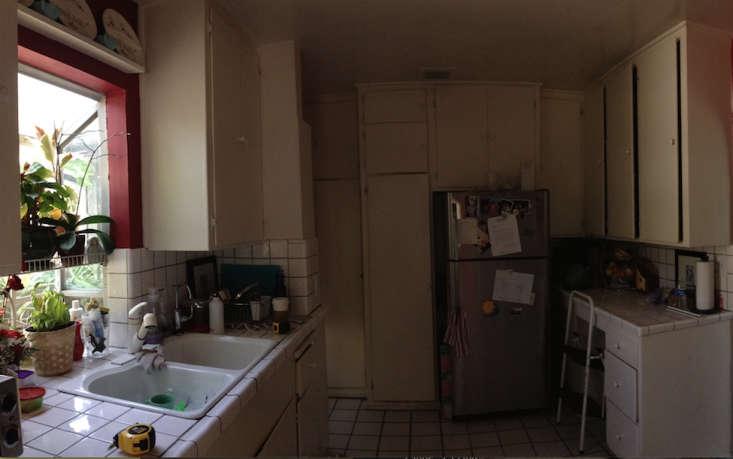 BEFORE shot Flynn Howe kitchen LA Remodelista 1