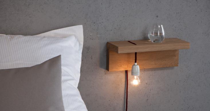 BYRK Light Board bedside shelf and light Remodelista
