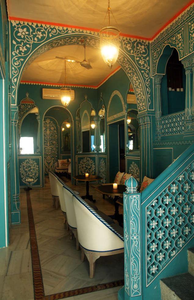 Talk of the Town Fashion Star MarieAnne Oudejans Designs a Bar in Jaipur portrait 14