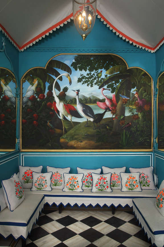 Talk of the Town Fashion Star MarieAnne Oudejans Designs a Bar in Jaipur portrait 9