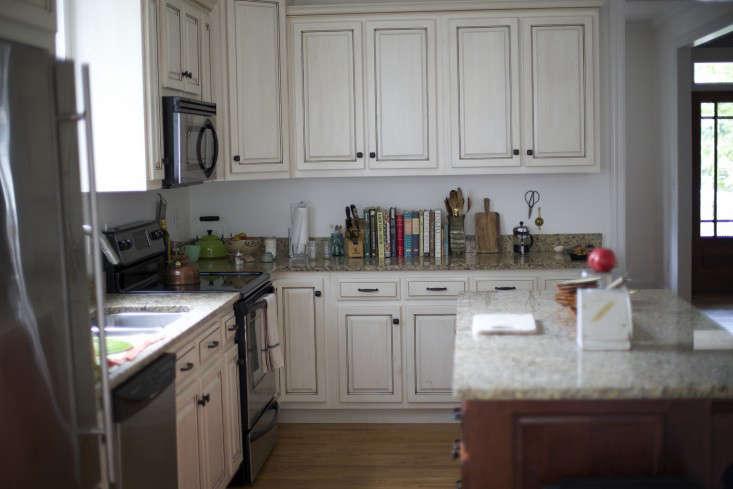 Before shot Beth Kirby's kitchen Remodelista 2