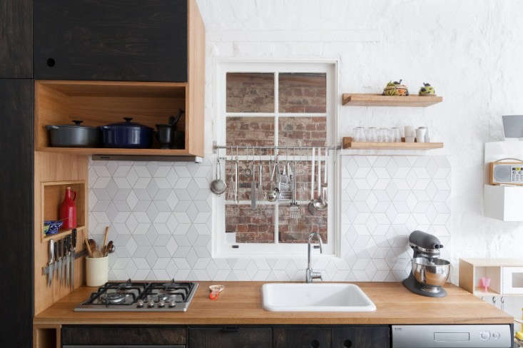 Ultimate Budget Storage 10 Kitchens with Ikeas Grundtal Rail System Making use of unused space, the architects installed a Grundtal rail over the kitchen window (itopens out onto a brick wall anyway) inKitchen of the Week: A Seventies Overhaul by Hearth Studio.