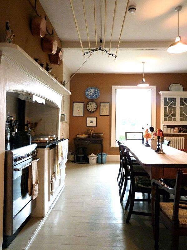Ben Pentreath Dorset Parsonage Eat in Kitchen