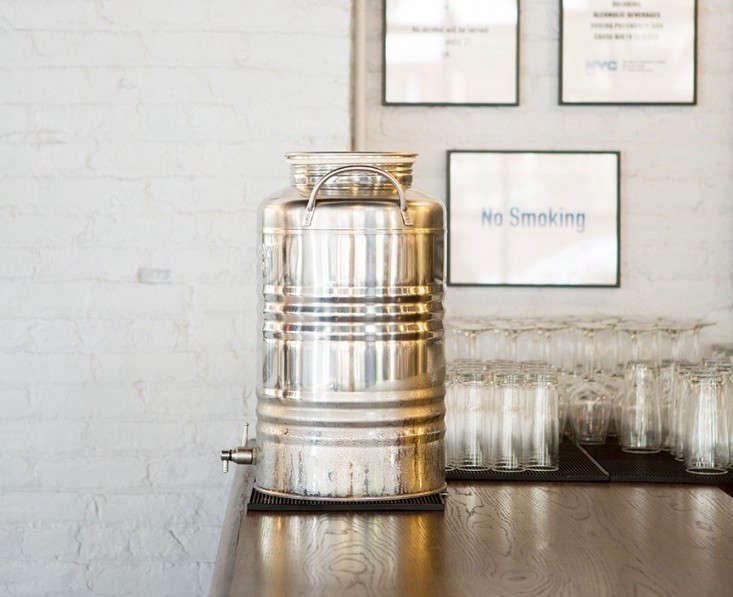 In a favorite recent post, Julie rounded up5 Stainless Steel Italian Water Fustis, including this-literSuperfustinox Stainless Steel Water Dispenser. It&#8