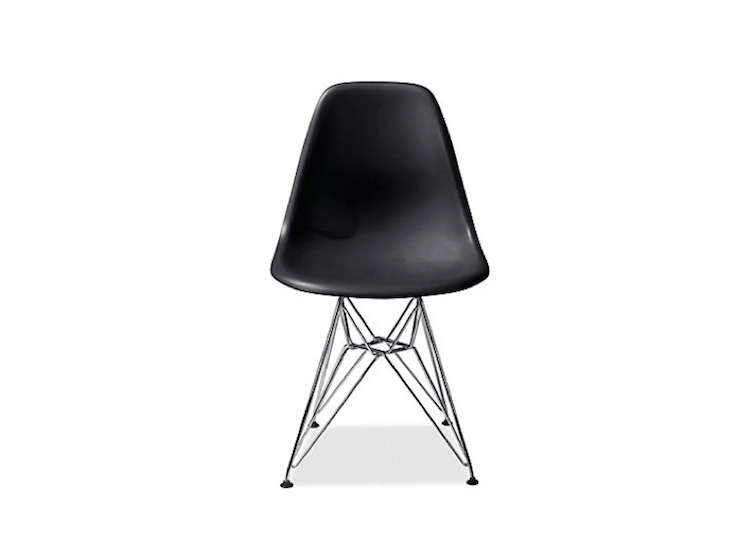 Black Molded Eames Chair Room and Board Remodelista