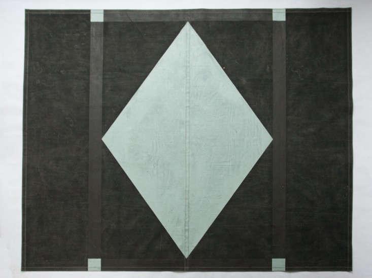 The Canvas Carpet Floorcloths from Black Point Mercantile of Portland Maine portrait 5