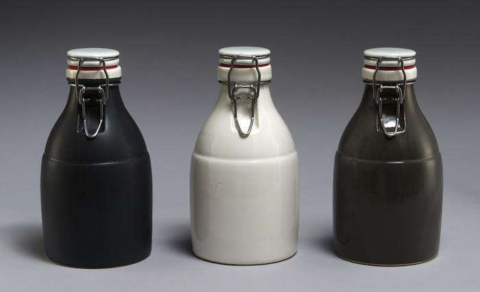 Black White and Grey Growlers