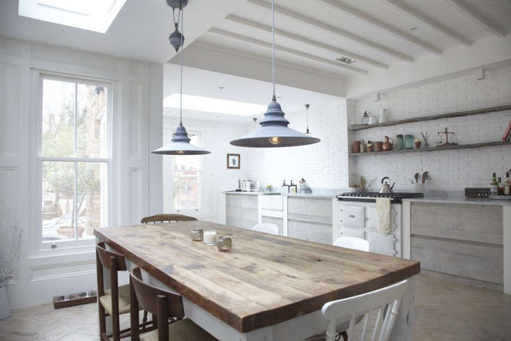 The Designer Is In A Scandi Kitchen in a London Victorian portrait 14
