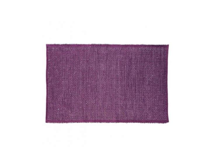 Blu Dot Newspaper Rug Purple Remodelista