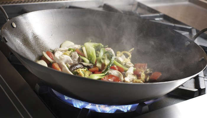 Bluestar Ranges and Cooktops feature wok-ready burners with up to ,000 BTU searing power. By removing the top ring grate on the burner, the wok sits directly in the flame for maximum heat.