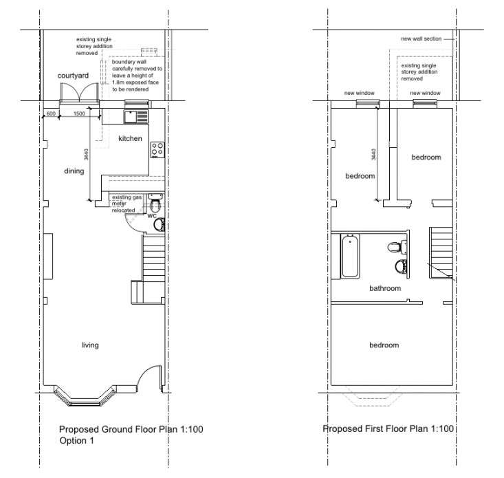Blunden von Simson Parsons Green Proposed Drawings Remodelista