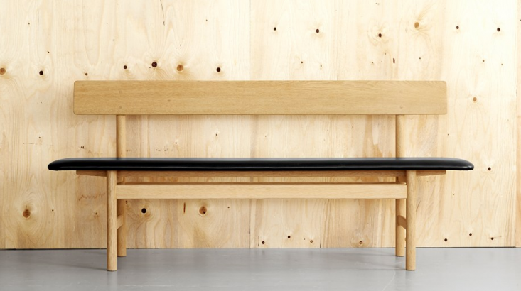 10 Easy Pieces Modern Wooden Benches with Backs portrait 3