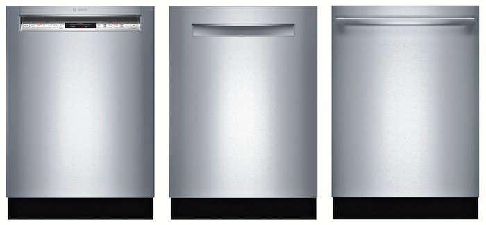 Bosch dishwasher panel selection