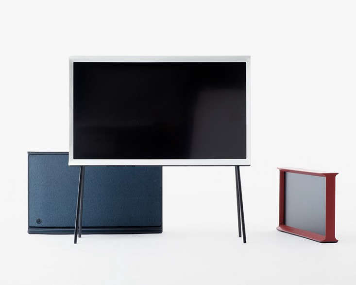The New Serif TV by the Bouroullec Brothers for Samsung portrait 5