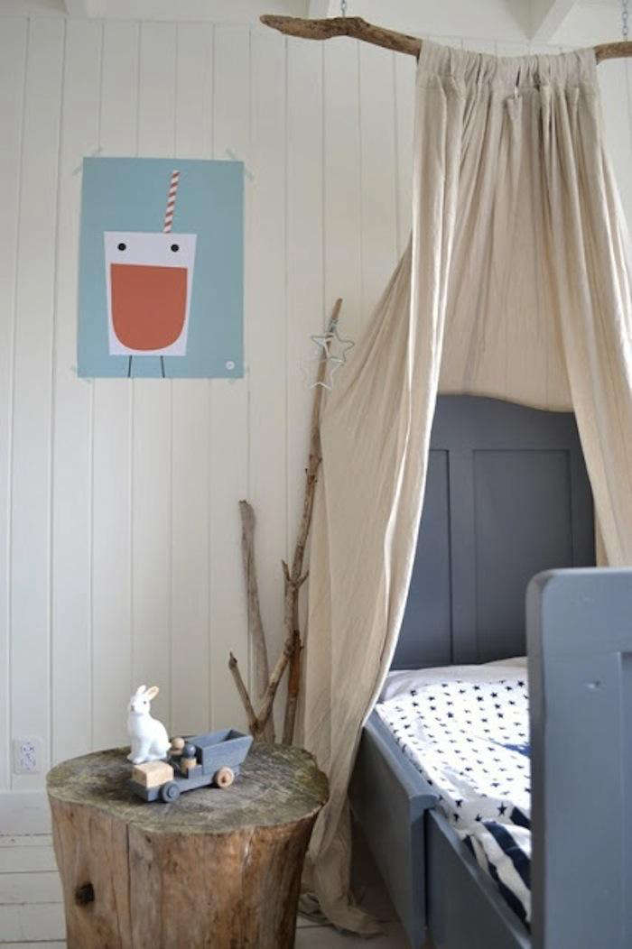 DIY Childrens Canopy Bed portrait 3