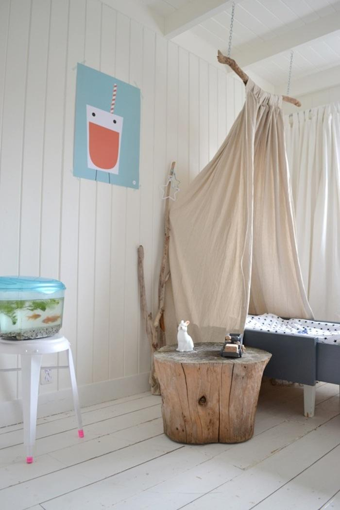 DIY Childrens Canopy Bed portrait 4