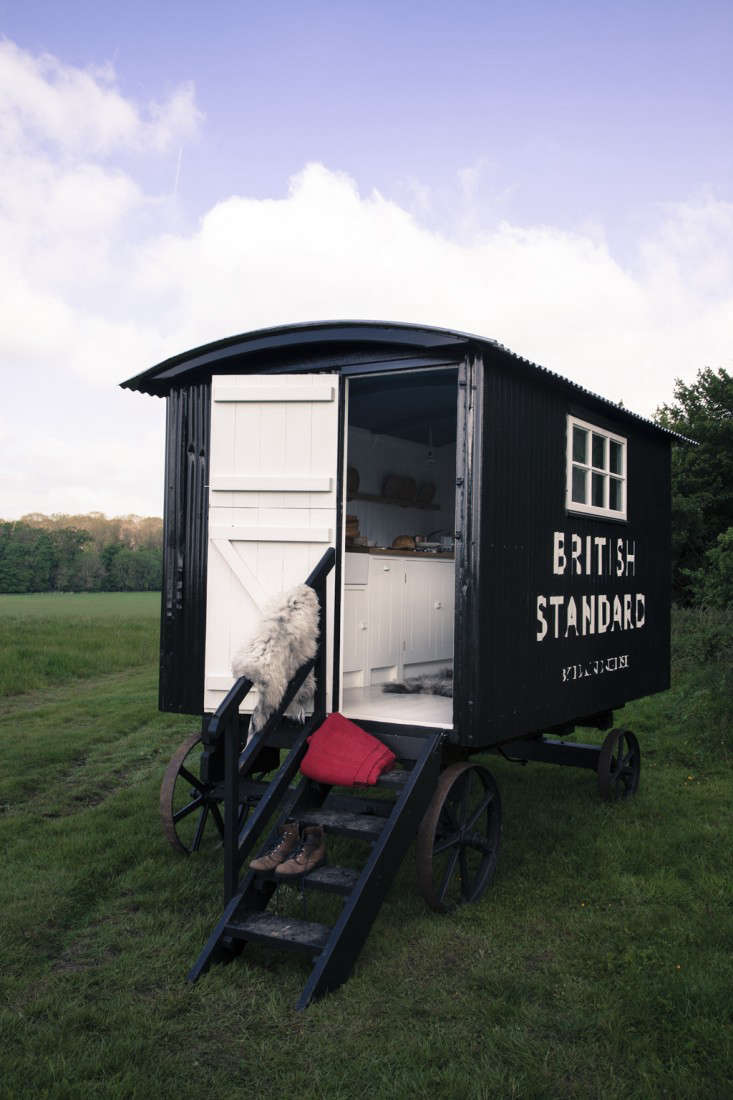 Rehab Diary A British Standard Kitchen in a Shepherds Hut portrait 3