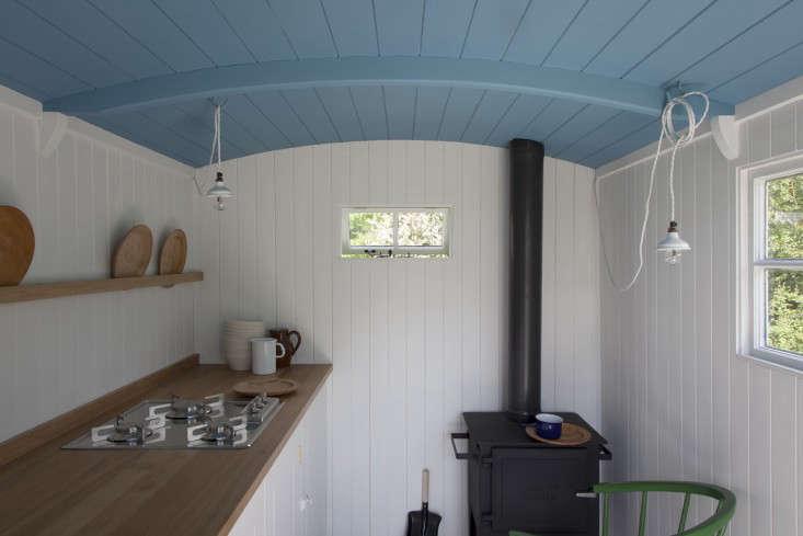 Rehab Diary A British Standard Kitchen in a Shepherds Hut portrait 4