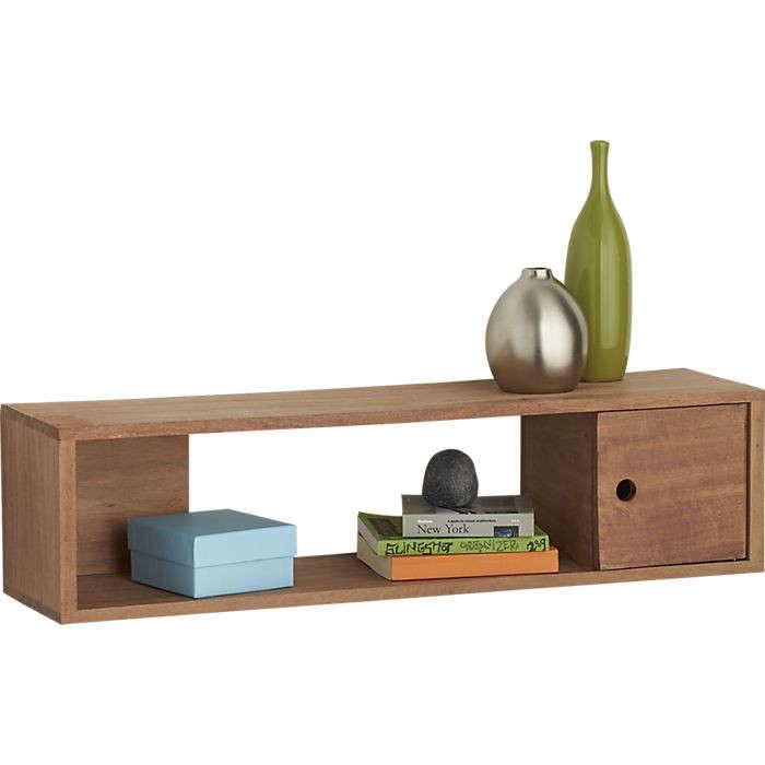CB2 fundamental storage shelf Remodelista