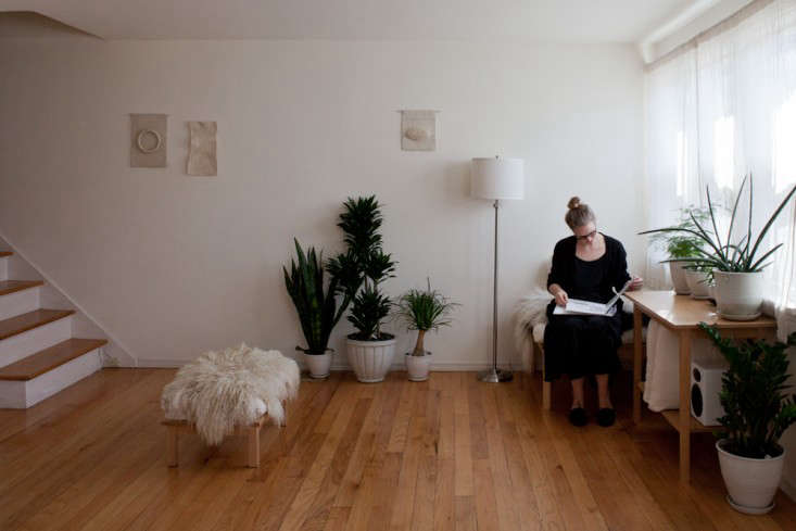 A Whiter Shade of Pale Weaver Caitlin Emeritz at Home in Seattle portrait 3