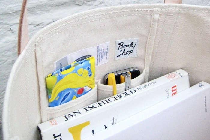 Canvas Bag Book Shop Temescal