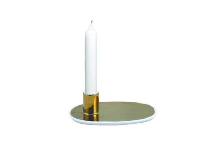 HighLow Modern Metallic Candleholder portrait 5