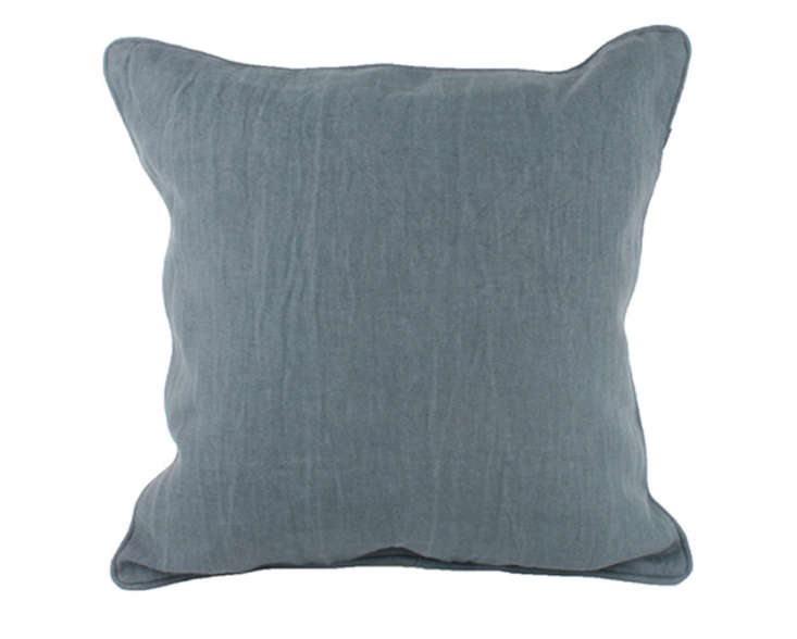 Canvas Linen Pillow with PIping Remodelist