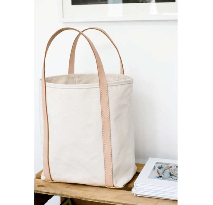 Canvas and Leather Bag Book Shop