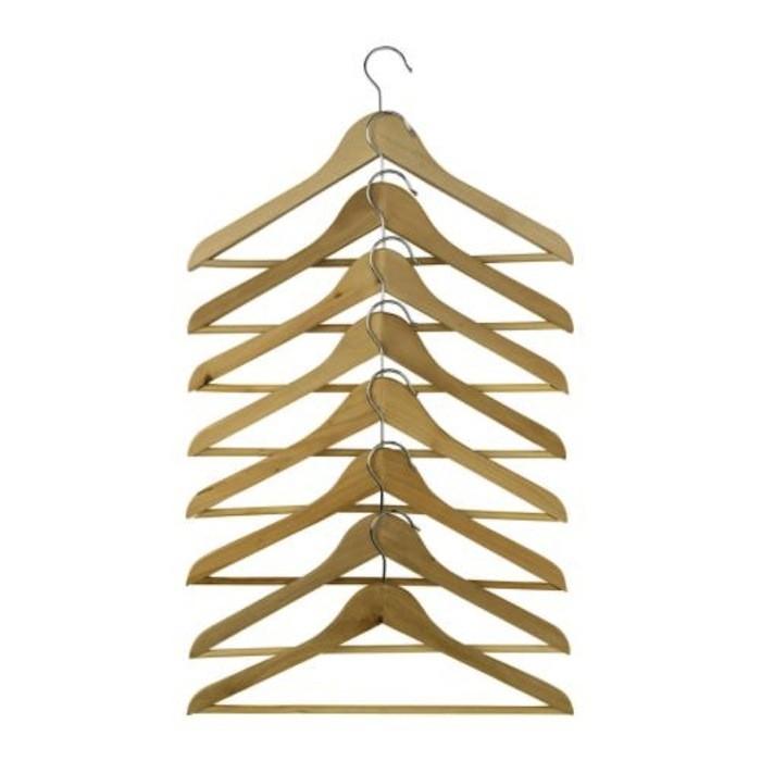 Care bumerang curved clothes hanger11