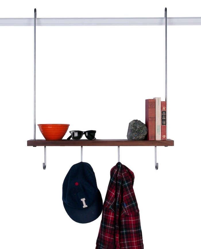 Instant Storage Hanging Shelves Made in San Francisco  portrait 5