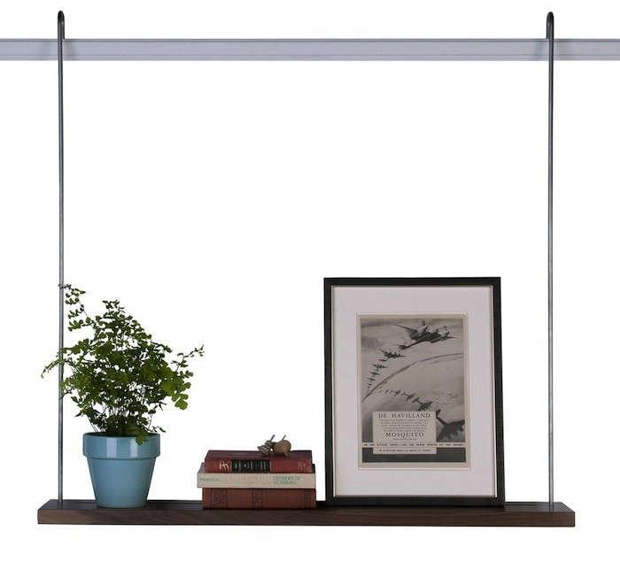 Instant Storage Hanging Shelves Made in San Francisco  portrait 7