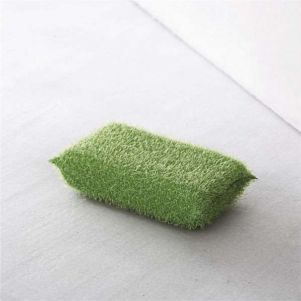 casabella green scrub sponge crate&barrel remodelista 15