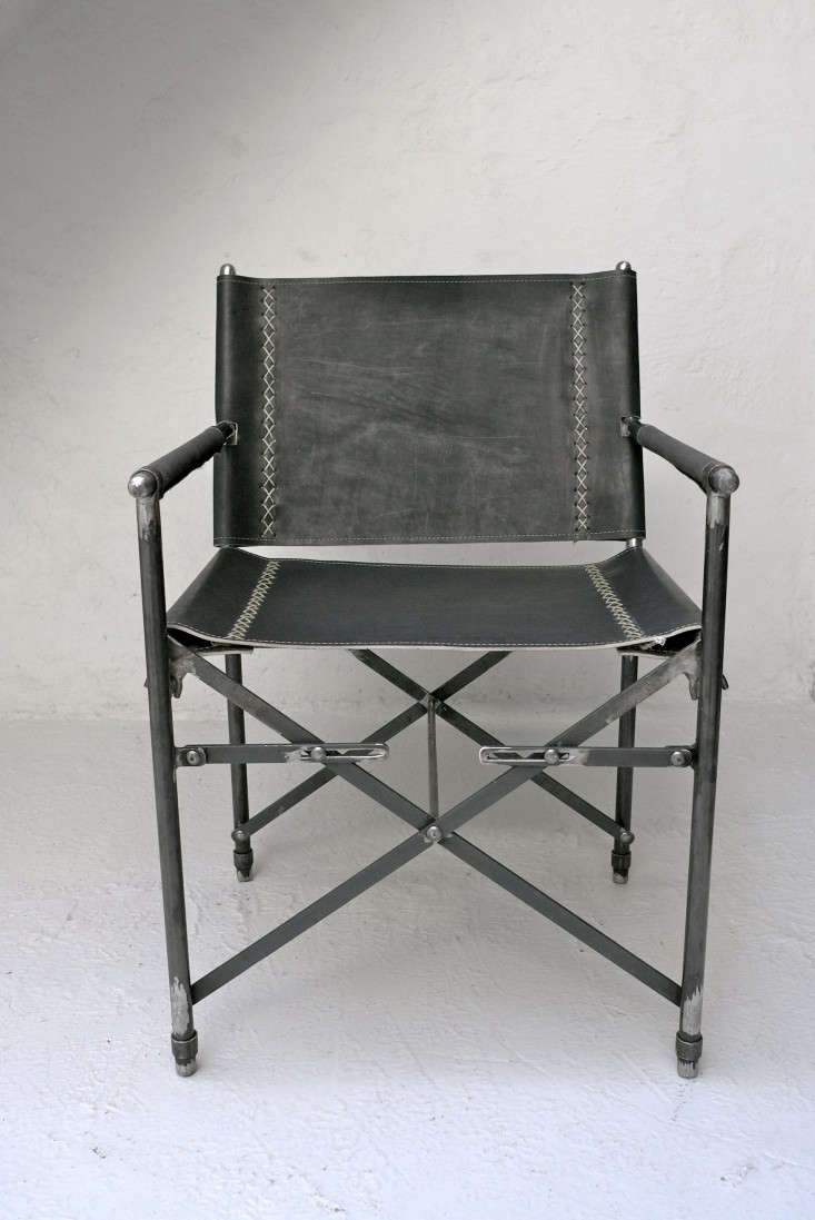 IndoorOutdoor Furniture Made from Salvaged Waxed Canvas portrait 7