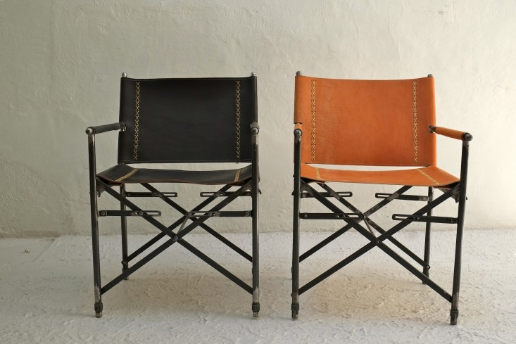 IndoorOutdoor Furniture Made from Salvaged Waxed Canvas portrait 8