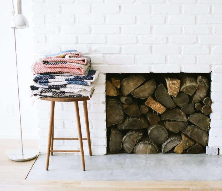 Cashmere blankets noon design studio Remodelista
