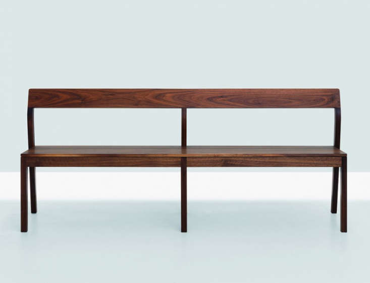 10 Easy Pieces Modern Wooden Benches with Backs portrait 13