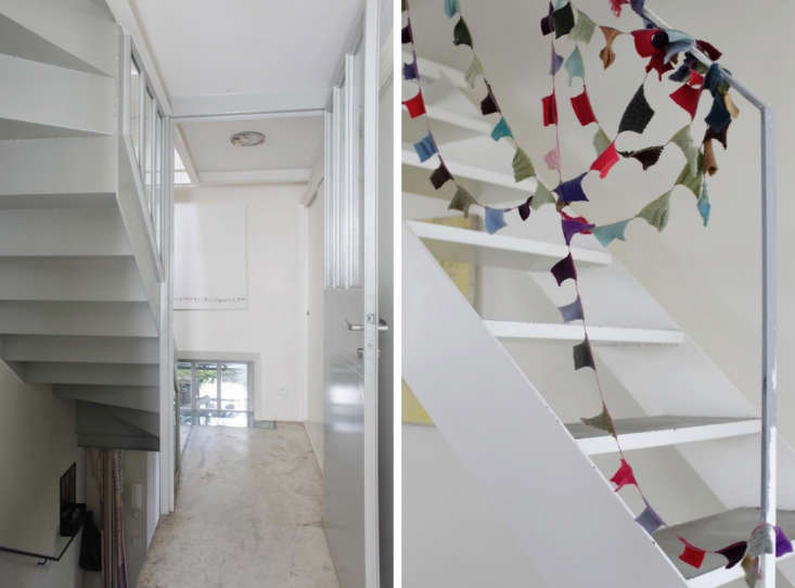 Cecile Daladier Nicolas Soulier Stairs Flags