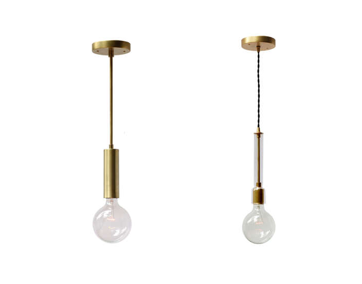 Cedar and Moss lighting Fjord Rod and Waterfall Cord pendants Remodelista