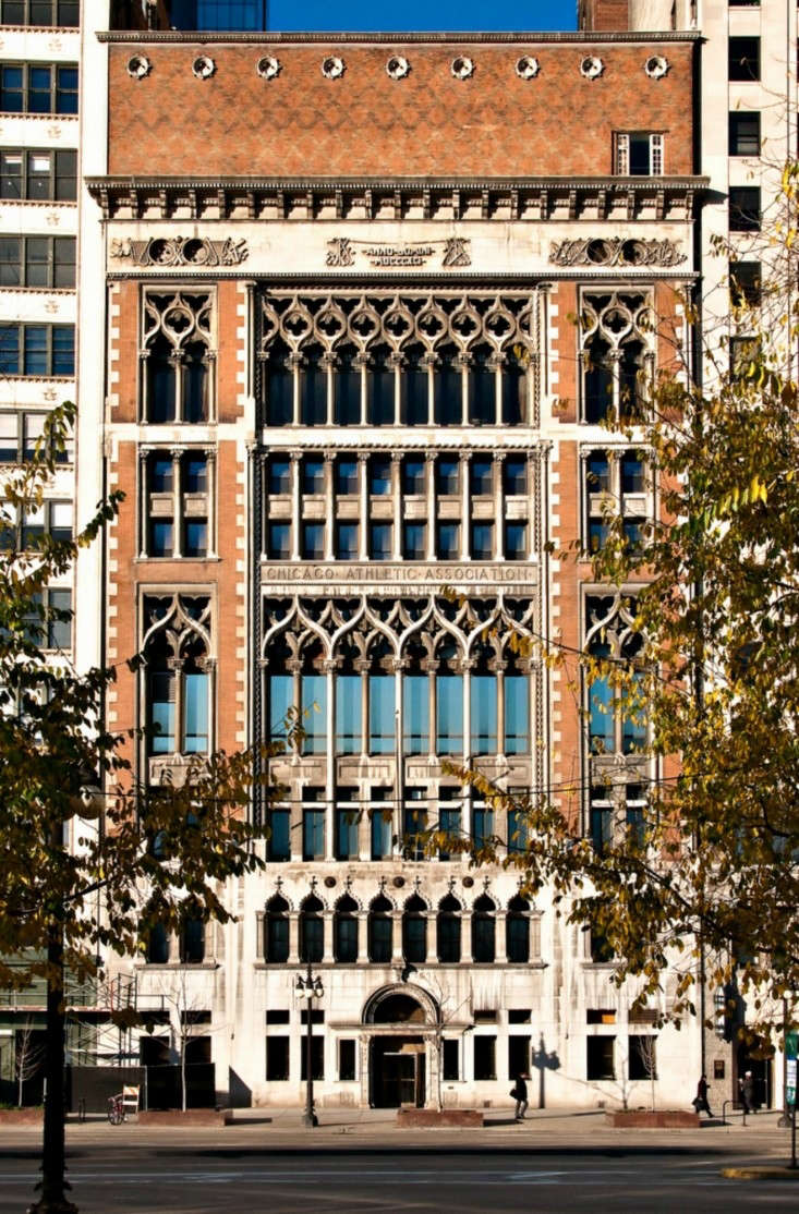 Windy City Gothic The Chicago Athletic Association Hotel by Roman and Williams portrait 10