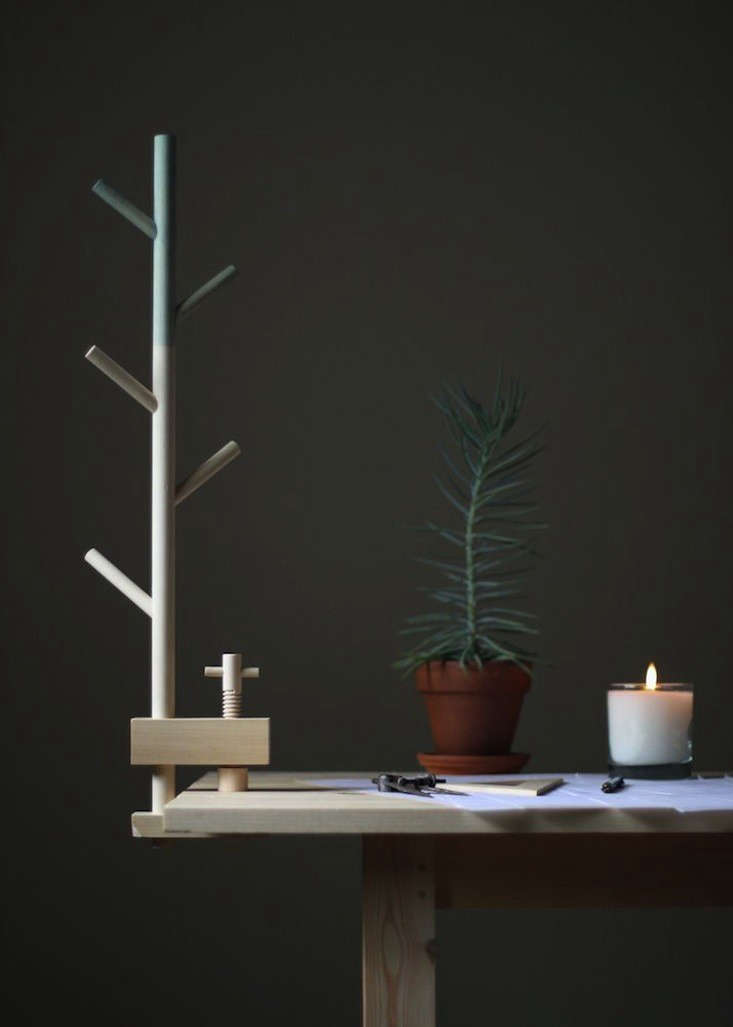 A TreeShaped Table Clamp for Clearing Clutter  portrait 3