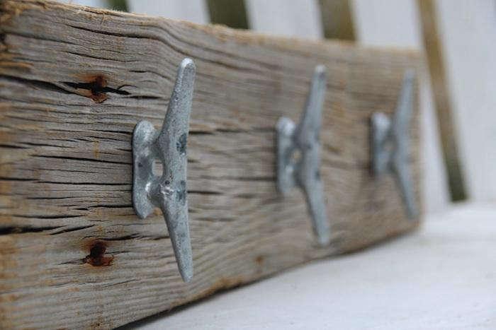 Cleat Hooks On Wood